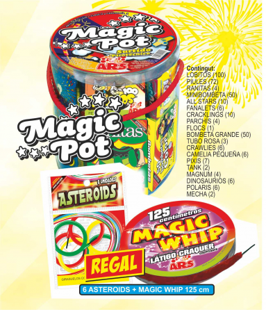 Lot nº 3 Magic Pot